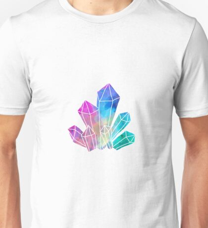 colorful crystalss Unisex T-Shirt