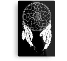Dreamcatcher - Black Metal Print