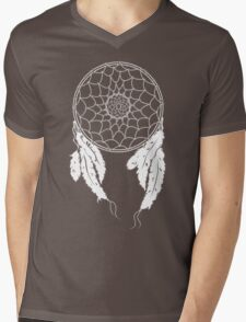 Dreamcatcher - Black Mens V-Neck T-Shirt