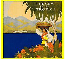 Jamaica Travel Poster 1910 by Trevor McCabe