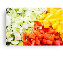 Fresh Vegetables Canvas Print