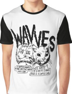 Wavves I Hated Wavves Before they were cool  Graphic T-Shirt