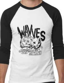 Wavves I Hated Wavves Before they were cool  Men's Baseball ¾ T-Shirt