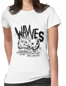 Wavves I Hated Wavves Before they were cool  Womens Fitted T-Shirt