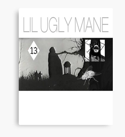 LIL UGLY MANE  Canvas Print