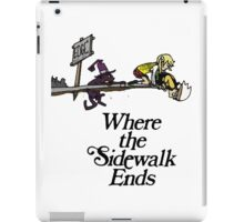 Soul Eater Where the sidewalk ends iPad Case/Skin
