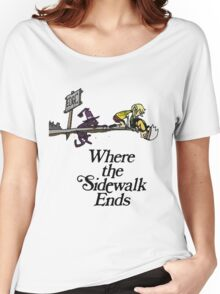 Soul Eater Where the sidewalk ends Women's Relaxed Fit T-Shirt