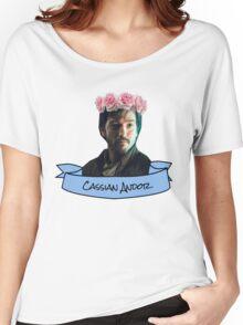 cassian andor flower crown sticker Women's Relaxed Fit T-Shirt