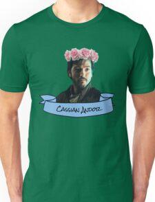 cassian andor flower crown sticker Unisex T-Shirt