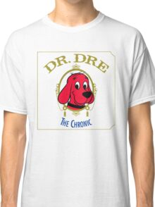Clifford the Big red dog 2001 Dr Dre the Chronic  Classic T-Shirt