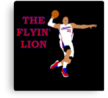 The Flyin' Lion Canvas Print