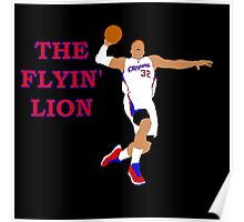 The Flyin' Lion Poster