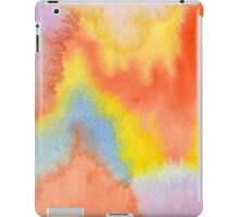 Hand-Painted Abstract Watercolor Sunset in the Rain iPad Case/Skin