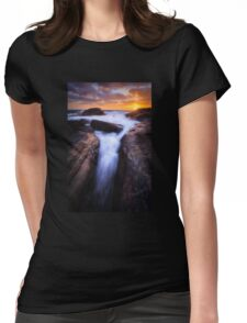 The Embrace Womens Fitted T-Shirt