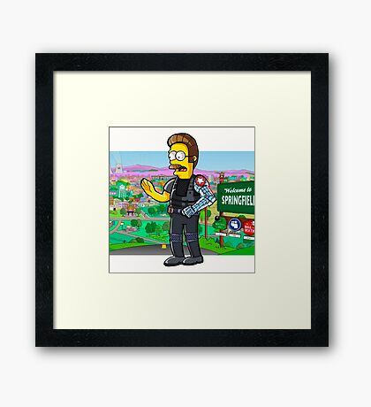 Winter Flanders Framed Print