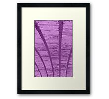old ceiling of bridge Framed Print