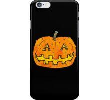 cartoon pumpkin iPhone Case/Skin