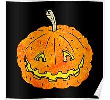spooky pumpkin Poster