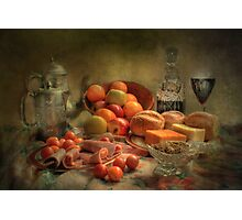 Lunch !  ( still life ) Photographic Print