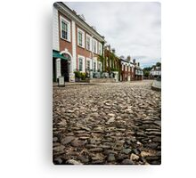 Cathedral Close, Exeter Canvas Print