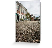 Cathedral Close, Exeter Greeting Card