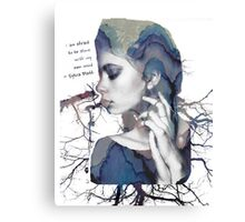 Stem of Thoughts Canvas Print