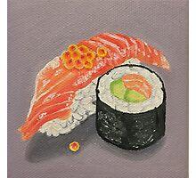 Salmon Sushi Painting Photographic Print