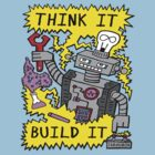 Think Build Robot by jarhumor