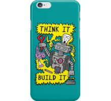 Think Build Robot iPhone Case/Skin