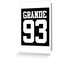 ARIANA 93 Greeting Card