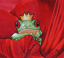 Flowers From the Frog Prince by secretplanet
