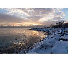Ice Dawn Photographic Print
