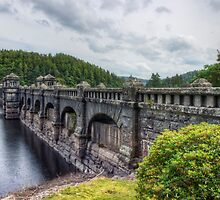 Lake Vyrnwy Dam by Ian Mitchell