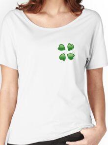 4chan Clover Logo Women's Relaxed Fit T-Shirt