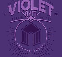 Violet Gym by Azafran