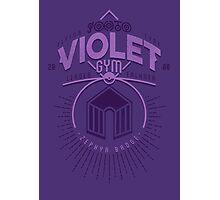 Violet Gym Photographic Print
