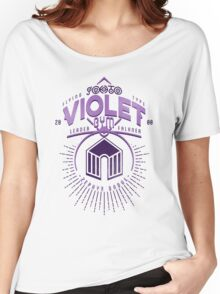 Violet Gym Women's Relaxed Fit T-Shirt