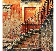 Arkadi Monastery. Stair details Photographic Print