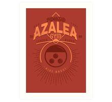 Azalea Gym Art Print