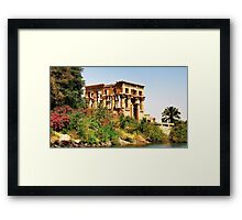 Philae temple Framed Print