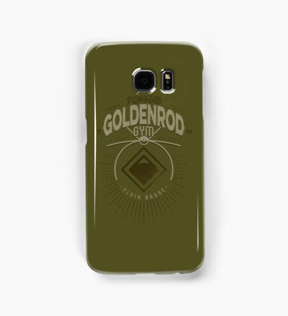 Goldenrod Gym Samsung Galaxy Case/Skin