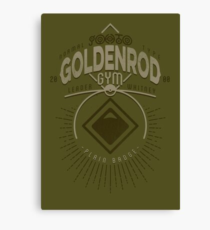 Goldenrod Gym Canvas Print