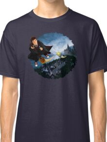 time and space traveller lost in the wizard World Classic T-Shirt