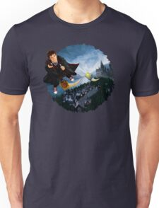 time and space traveller lost in the wizard World Unisex T-Shirt