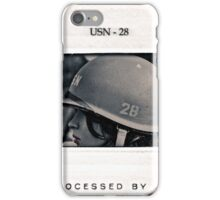 USN - 28  iPhone Case/Skin