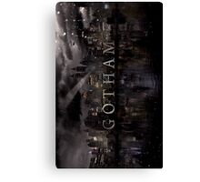 Gotham(TV Show) Canvas Print