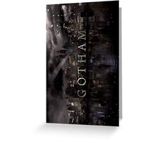 Gotham(TV Show) Greeting Card