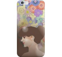 Girl - Vintage iPhone Case/Skin