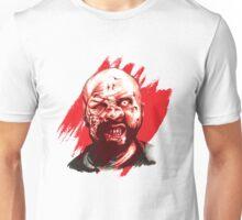 Zombie Red Splatter Unisex T-Shirt