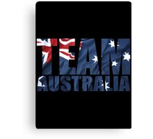 Team Australia Canvas Print
